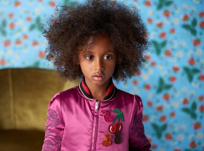 Gucci Kids Spring 2016 Natural Hair CharmPosh Kids Clothes Trends App