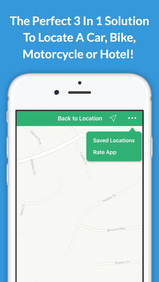 Find My Wheels Pro app CharmPosh Family Road Trip Safety