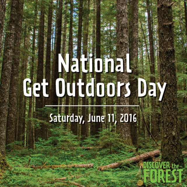 Happy National Get Outdoors Day Charm Posh