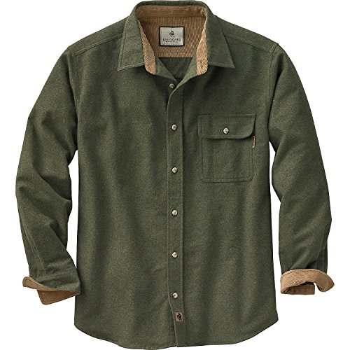 Legendary Whitetails Men's Buck Camp Flannel Shirt CharmPosh