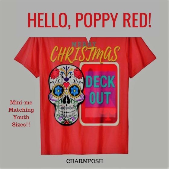 Merry Christmas Deck out Poppy Red by CharmPosh main2