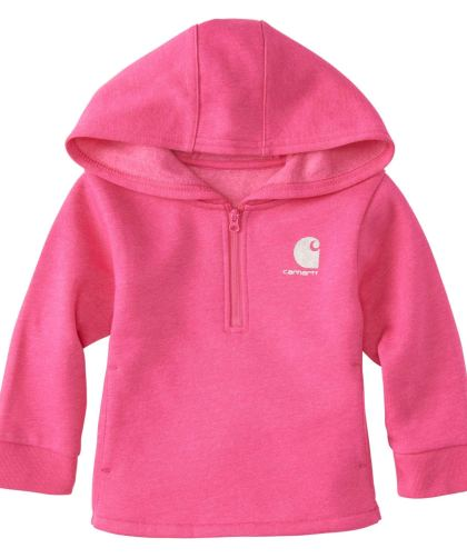 Baby Girl Heather Fleece Sweatshirt by Carhartt CharmPosh
