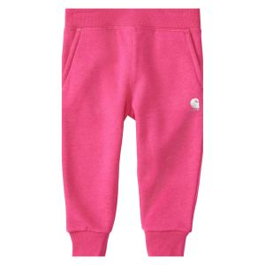 Baby Girl Pink Fleece Sweatpants by Carhartt CharmPosh