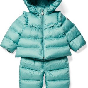 MONCLER KIDS Baby Rorotea Hooded Quilted Shell Down Jacket Pants Set 3 to 24 Months CHARMPOSH