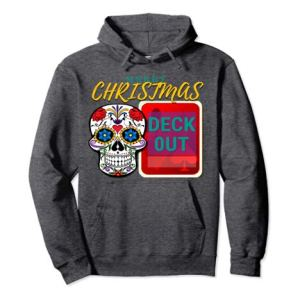 CharmPosh Merry Christmas Deck Out Runway Pullover Hoodie Family Holiday Merch CHARMPOSH