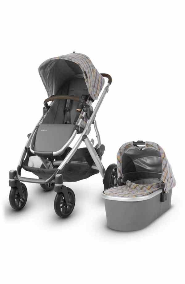 CHARMPSOH VISTA Spenser Convertible Stroller with Bassinet & Toddler Seat
