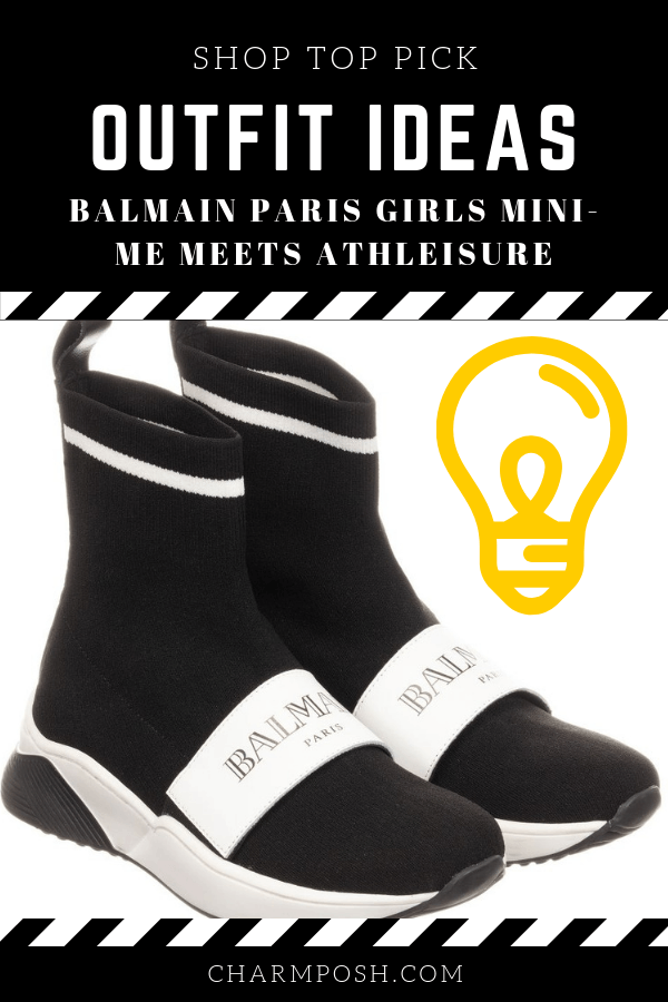 Outfit Ideas Balmain Paris Girls Mini-Me Meets Athleisure CharmPosh 2