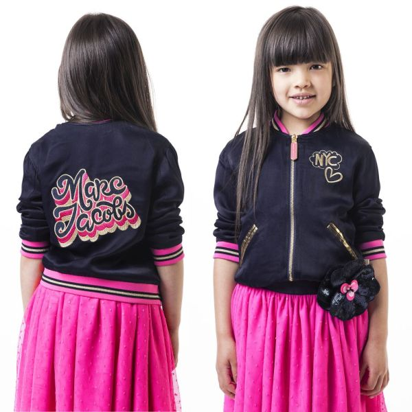 Reversible Bomber Jacket For Girls by Little Marc Jacobs CharmPosh 4