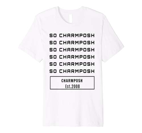 SO CHARMPOSH T-Shirt CharmPosh White