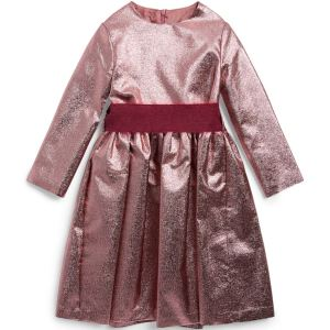 IL GUFO Girls Metallic Dress CharmPosh main