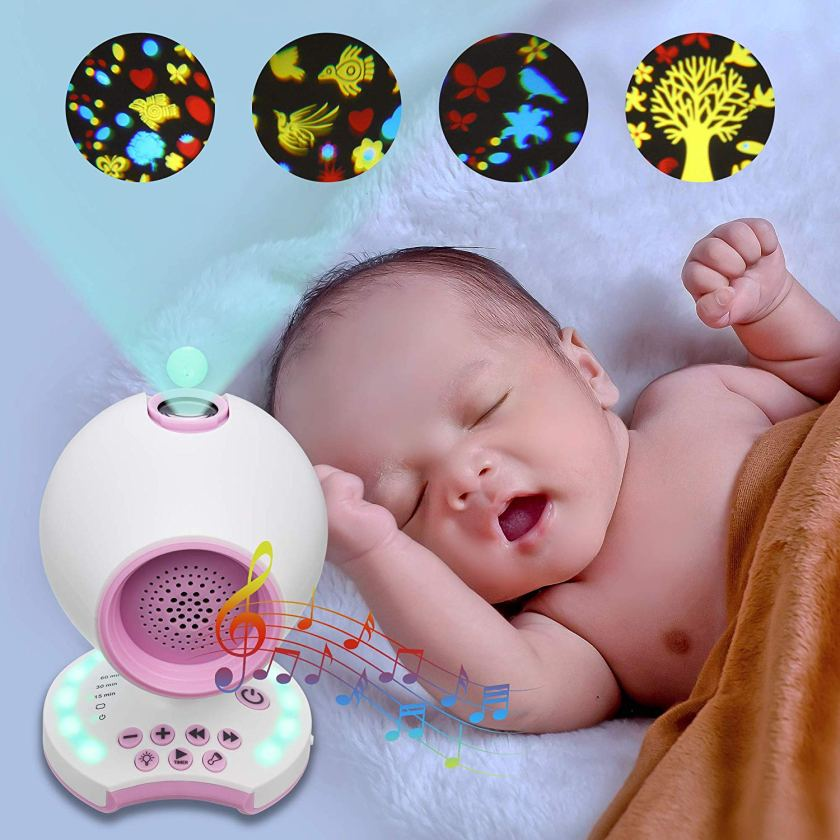 White-Noise-Sound-Machine-with-Colorful-Projector-for-Sleeping-CharmPosh