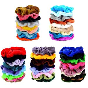 45 Pcs Hair Scrunchies Velvet Elastics by Chloven VSCO Girl CharmPosh main