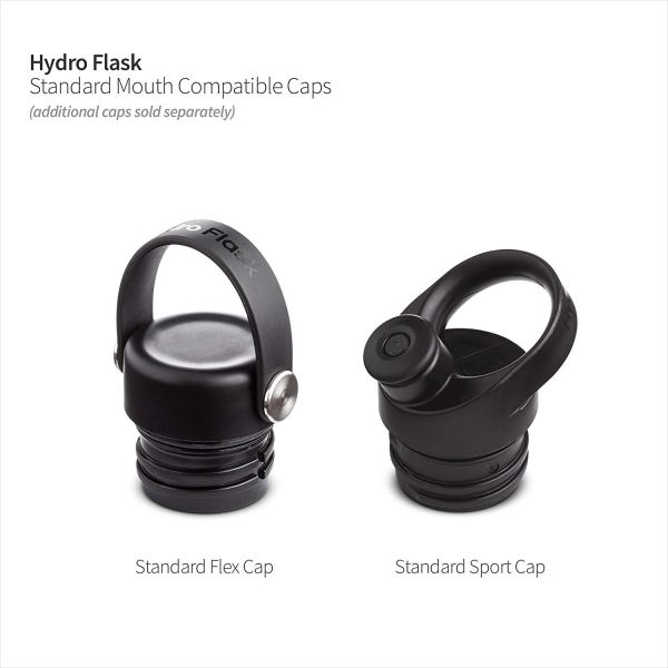 Hydro Flask Standard Mouth Water Bottle With Flex Cap CharmPosh 2