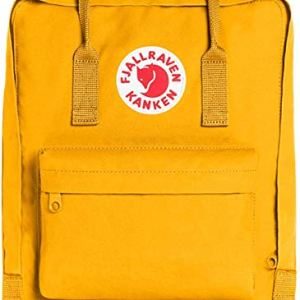 ICONIC Warm Yellow Kanken Classic Backpack for Everyday by Fjallraven VSCO Girl CharmPosh