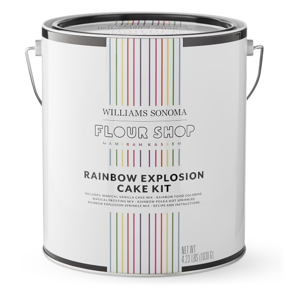 Rainbow Explosion Cake Kit By Flour Shop CharmPosh