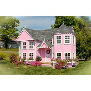 Sara's Victorian Mansion DIY Kit Playhouse CharmPosh