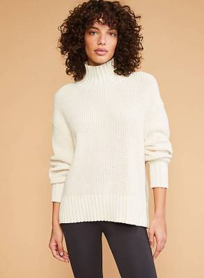 Ribtrim Turtleneck Sweater CharmPosh
