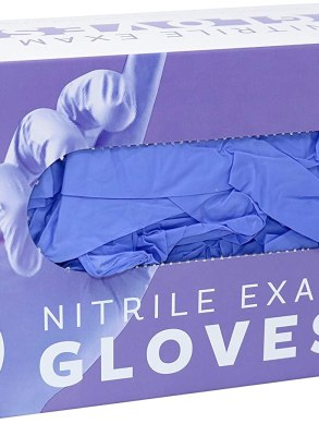Eskay Nitrile Exam Gloves Box of 200 Gloves CharmPosh