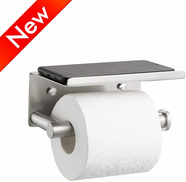 Fancy Toilet Paper Holder by Naturous CharmPosh