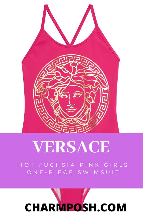 Versace-Hot-Fuchsia-Pink-Girls-One-Piece-Swimsuit-main-CharmPosh