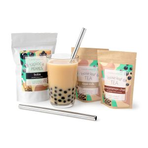 Two Flavors Bubble Tea Kit