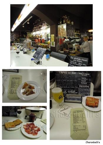 Barcelone - Tapas 24 - Charonbelli's blog de voyages