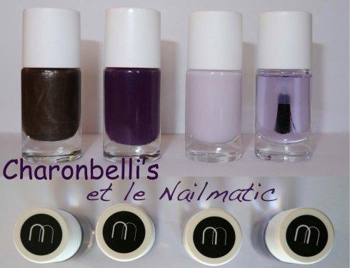 Charonbelli's et le Nailmatic - Charonbelli's blog beauté