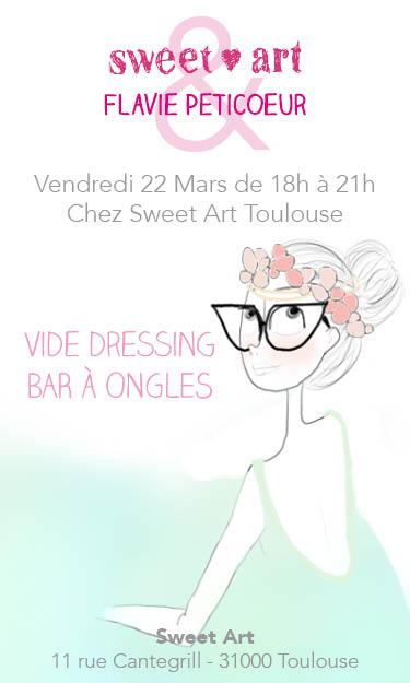 Flyer Vide Dressing Flavie Petitcoeur