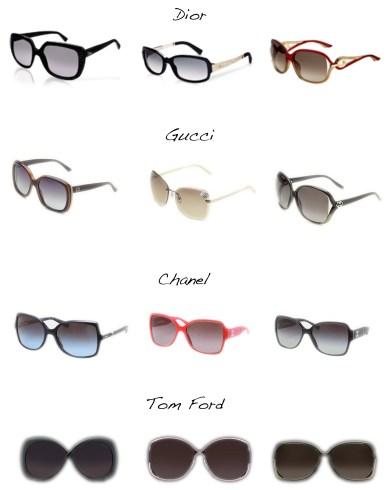 Sélection lunettes de soleil - Charonbelli's blog mode