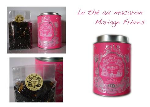 Thé au macaron Mariage Frères - Charoneblli's blog de cuisine