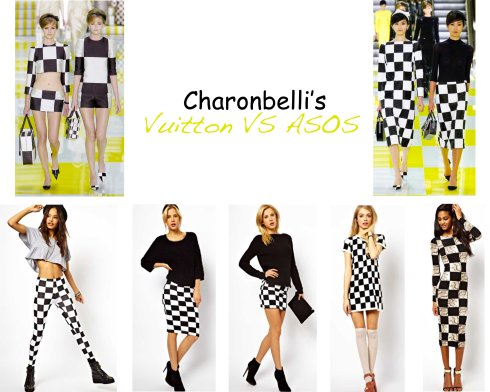 Vuitton SS 2013 VS ASOS - Charonbelli's blog mode