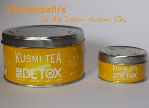 BB Détox Kusmi Tea - Charonbelli's blog de cuisine