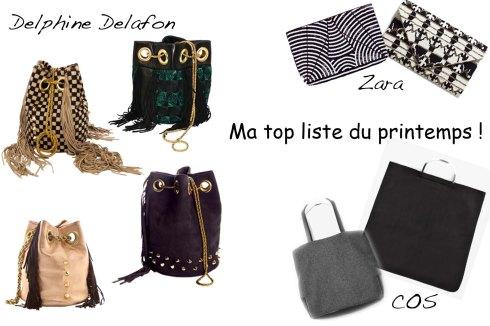 Ma top liste d'accessoires pour le printemps- Charonbelli's blog mode