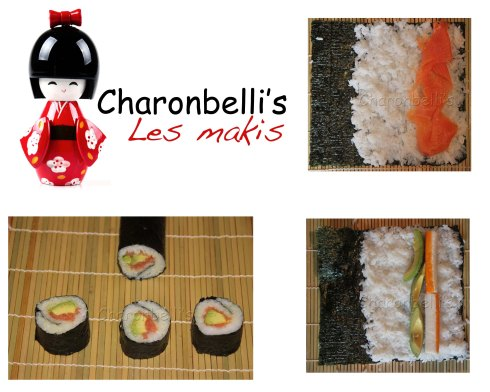 Charonbelli's se met aux makis - Charonbelli's blog de cuisine