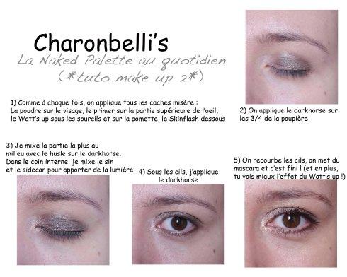 Ma Naked palette au quotidien (tuto 2) - Charonbelli's blog beauté