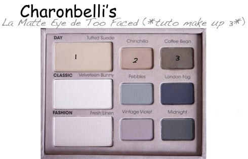 La Matte Eye de Too Faced (2) - Charonbelli's blog beauté