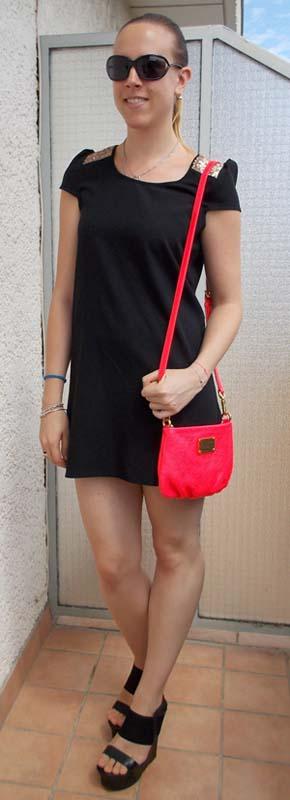 Ma petite robe noire Monshowroom - Charonbelli's blog mode