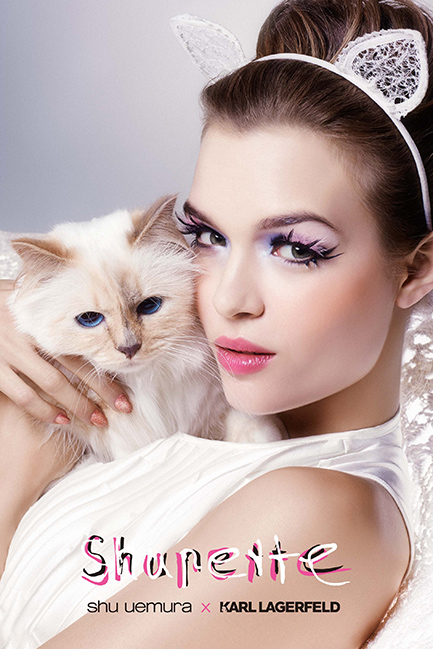 Shupette - Karl Lagerfeld X Shu Uemura - Charonbelli's blog beauté