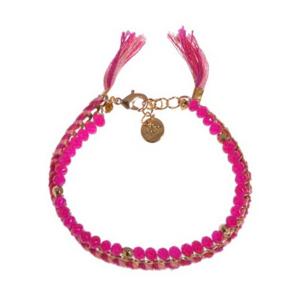 Bracelet perles et chaine Printemps - Les 150 ans du Printemps Haussmann - Charonbelli's blog mode