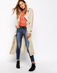 Trench long Abercrombie & Fitch - Charonbelli's blog mode