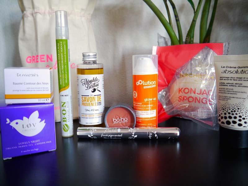 Birchbox X Coline - la box #GreenChic est arrivée ! (1) - Charonbelli's blog beauté