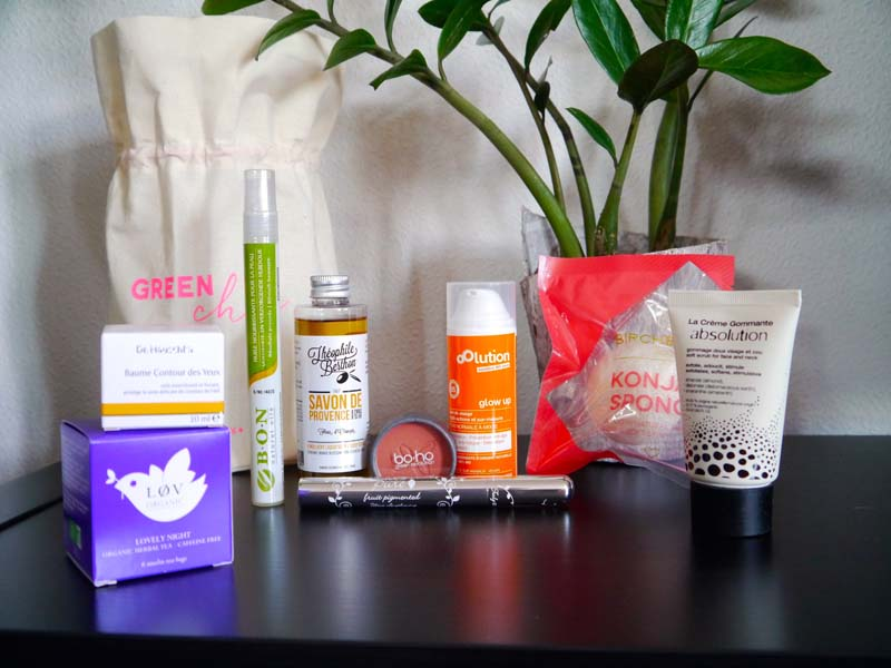 Birchbox X Coline - la box #GreenChic est arrivée ! - Charonbelli's blog beauté
