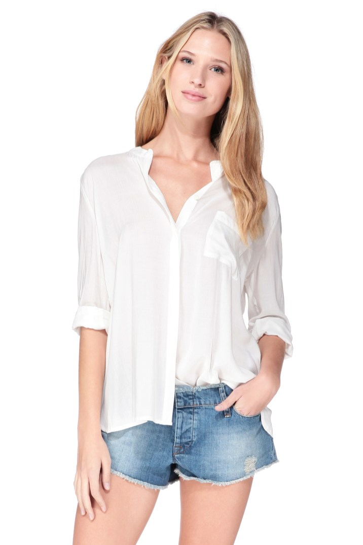 Chemise blanche Dely BASH - Charonbelli's blog mode