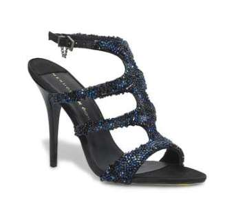 Jet black sandale - Menudier X Eram - Charonbelli's blog mode