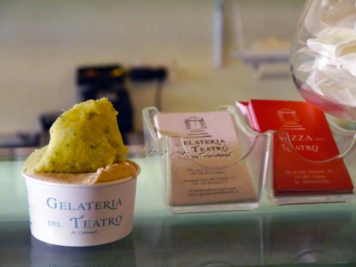 Gelateria del teatro - Où manger à Rome ? Mes meilleures adresses - Charonbelli's blog voyages