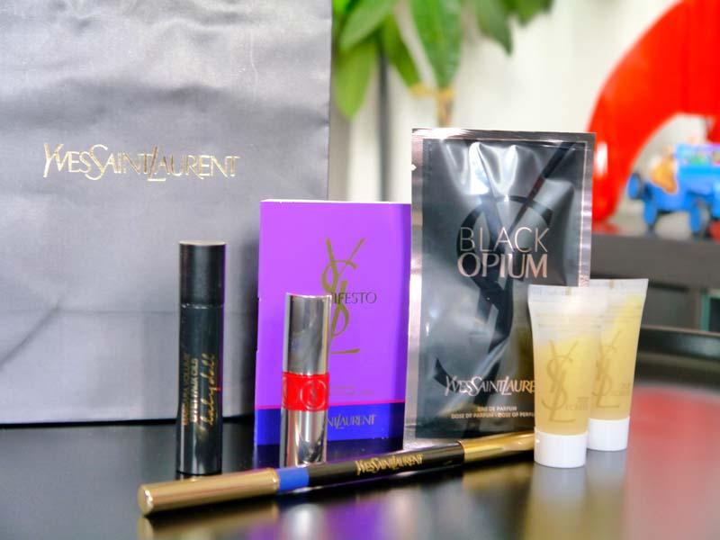 Les Saturday night make up Yves Saint Laurent aux Galeries Lafayette Toulouse - 2ème session ! - Charonbelli's blog beauté