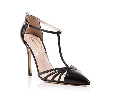 Carrie Cage high heels SJP by Sarah Jessica Parker - SJP by Sarah Jessica Parker - quand les escarpins de Carrie Bradshaw arrivent chez Bloomingdale's - Charonbelli's blog mode