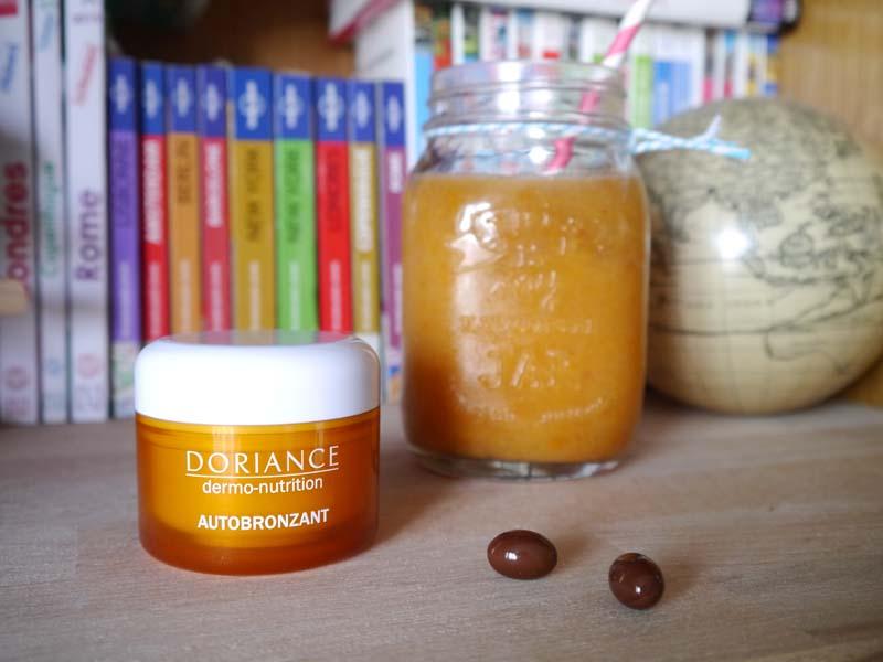 Les capsules Doriance Autobronzant Naturactive - le test ! - Charonbelli's blog beauté
