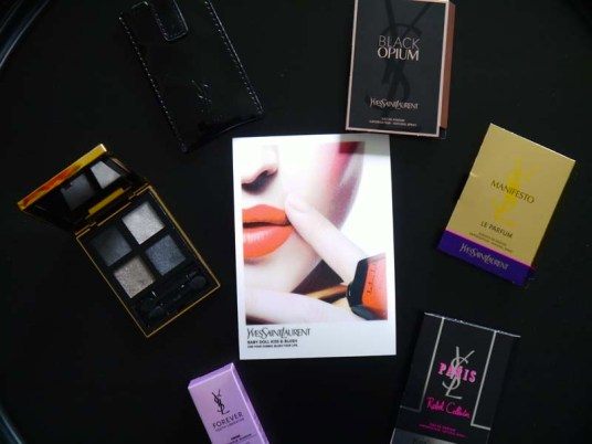 Mon 3e rendez-vous pour les Saturday night make up Yves Saint Laurent aux Galeries Lafayette Toulouse (4) - Charonbelli's blog beauté