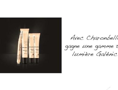 Avec Charonbelli's gagne une gamme teint lumière Galénic - Photo à la Une - Charonbelli's blog mode
